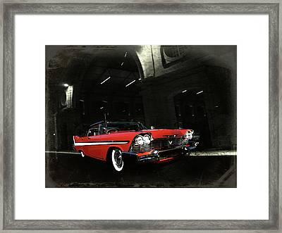 Night Ride Framed Print by Steven Agius