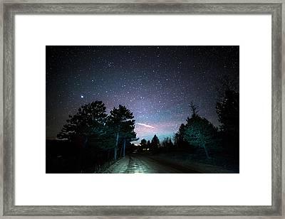 Night Rider Framed Print by James BO Insogna