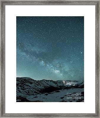 Rocky Mountain Magic Framed Print by Juli Scalzi