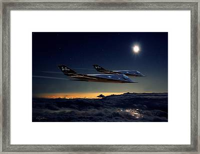 Night Stalkers Framed Print by Peter Chilelli