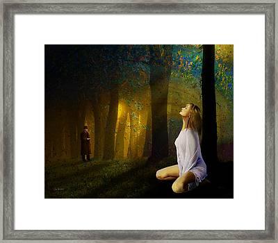 Night Vision Framed Print by Van Renselar