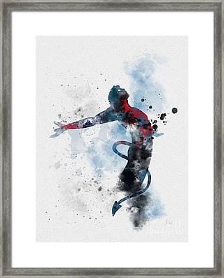 Nightcrawler  Framed Print by Rebecca Jenkins