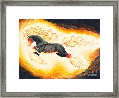 Nightmare 3.0 Framed Print by Melissa A Benson