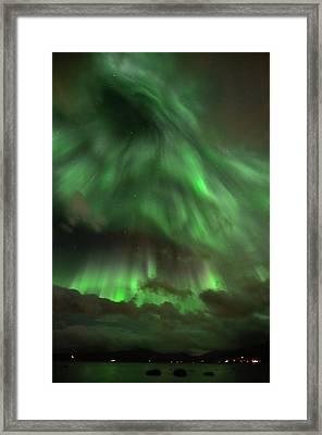 Nightsky Framed Print by John Hemmingsen