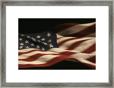Nighttime Glory Framed Print by Mike Coverdale