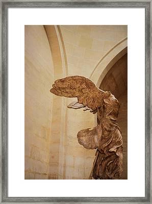 Nike Of Samothrace Framed Print by JAMART Photography