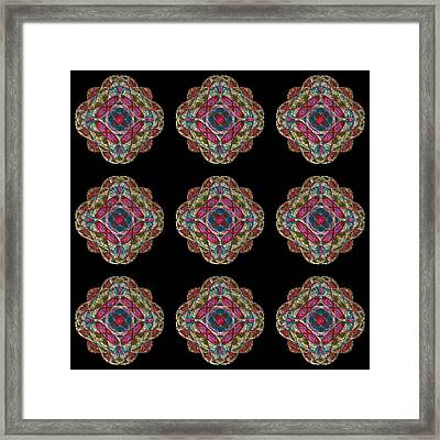 Nine Medallions Framed Print by Thomas Smith