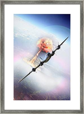 Nine Miles Down Range Framed Print by Peter Chilelli