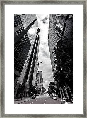 Ninth And B Framed Print by Phil Fitzgerald