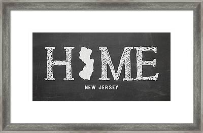 Nj Home Framed Print by Nancy Ingersoll