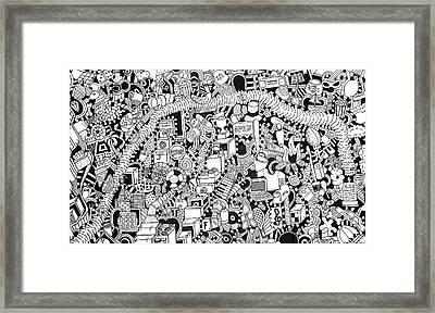 No Boundaries Framed Print by Chelsea Geldean