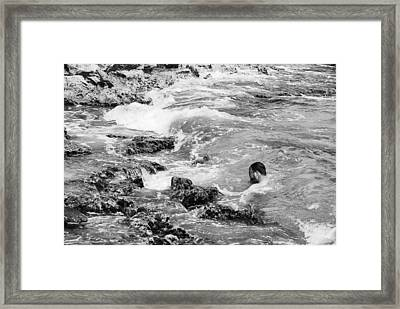 No Easy In Or Out Framed Print by David Coleman