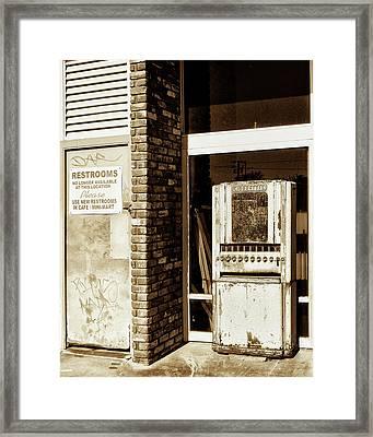 No Longer Framed Print by William Dey