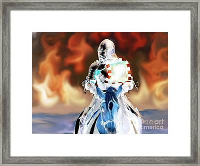 No Looking Back Framed Print by Roxy Riou