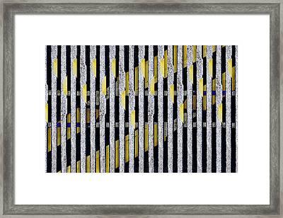 No Parking Number 1 Framed Print by Carol Leigh