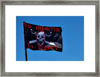 No Quarter No Mercy Framed Print by Garry Gay