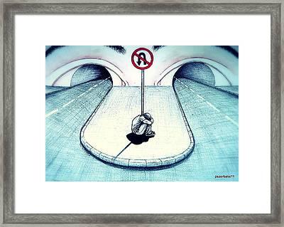 No Return Framed Print by Paulo Zerbato