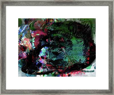 No That's It Framed Print by James Thomas