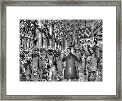 No Torture Framed Print by David Bearden
