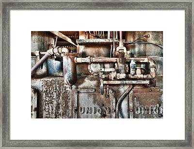No Work For Me Framed Print by Sandra Bronstein