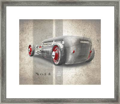 No.14 Framed Print by Jeremy Lacy