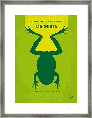 No159 My Magnolia Minimal Movie Poster Framed Print by Chungkong Art