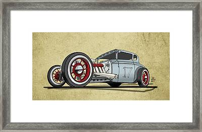 No.17 Framed Print by Jeremy Lacy