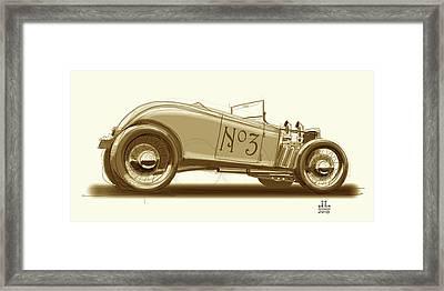 No.3 Framed Print by Jeremy Lacy