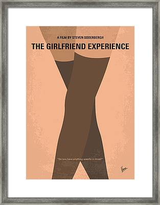 No438 My The Girlfriend Experience Minimal Movie Poster Framed Print by Chungkong Art