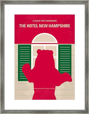 No443 My The Hotel New Hampshire Minimal Movie Poster Framed Print by Chungkong Art