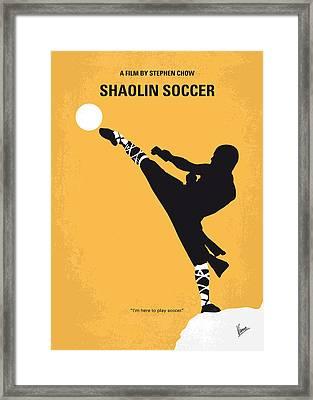 No480 My Shaolin Soccer Minimal Movie Poster Framed Print by Chungkong Art
