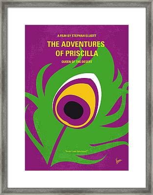 No498 My Priscilla Queen Of The Desert Minimal Movie Poster Framed Print by Chungkong Art