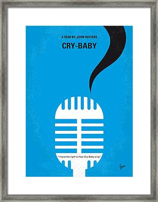 No505 My Cry-baby Minimal Movie Poster Framed Print by Chungkong Art
