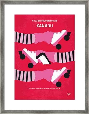 No516 My Xanadu Minimal Movie Poster Framed Print by Chungkong Art