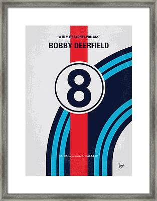 No565 My Bobby Deerfield Minimal Movie Poster Framed Print by Chungkong Art