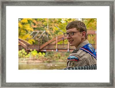 Noah 2 Framed Print by Ken Beatty
