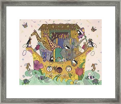 Noah's Ark Framed Print by Dee Van Houten