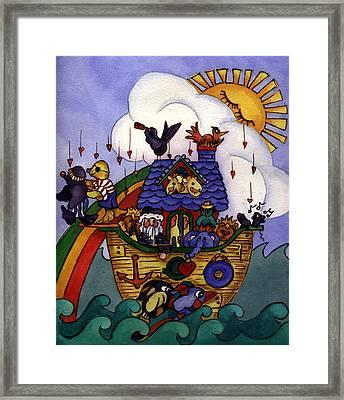 Noah's Ark Framed Print by Patricia Halstead