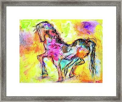Noble Framed Print by Ivan Guaderrama