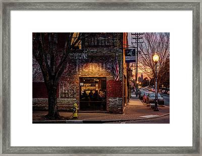 Noda Sunset Framed Print by Chris Austin