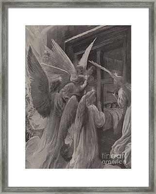 Noel Framed Print by Amedee Forestier