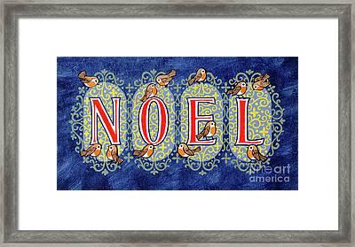 Noel Framed Print by Stanley Cooke