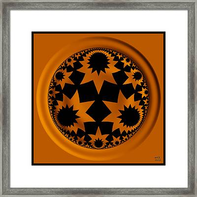 Noetic Science Framed Print by Manny Lorenzo