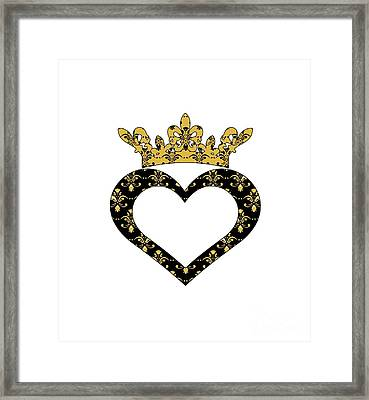 Nola Royalty Framed Print by NolaOriginals