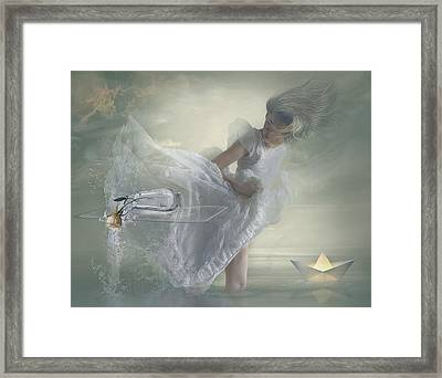 Nonchalance. Framed Print by Nataliorion