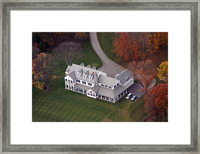 Norristown Road 3 Framed Print by Duncan Pearson