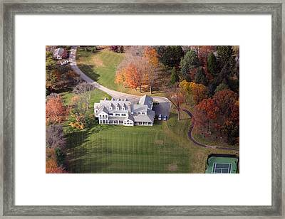 Norristown Road Framed Print by Duncan Pearson