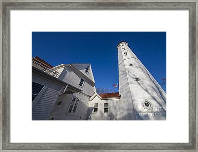 North Point Lighthouse Framed Print by Twenty Two North Photography