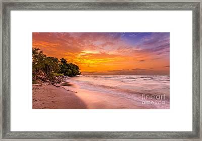 North Point Sunrise Framed Print by Andrew Slater