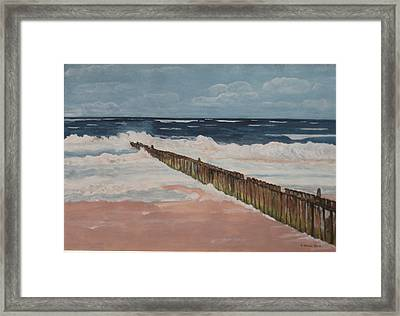 North Sea Sylt Framed Print by Antje Wieser